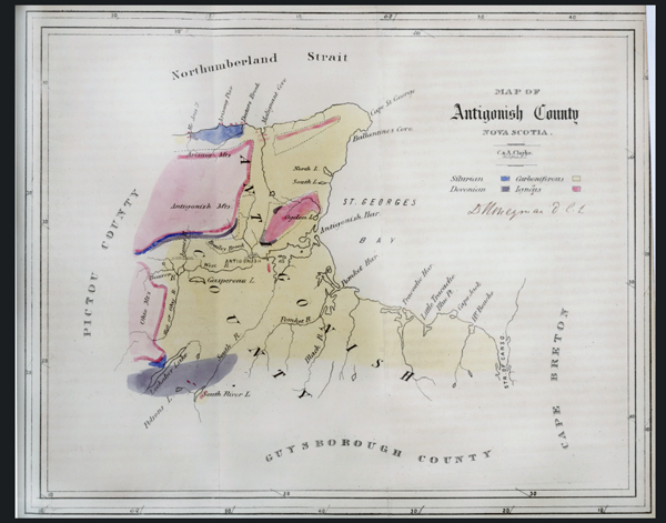 Geology Map of Antigonish County
