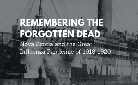 New Virtual Exhibit - Nova Scotia and the Great Influenza Pandemic of 1918-1920