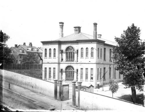 Cogswell Street Military Hospital, 1876