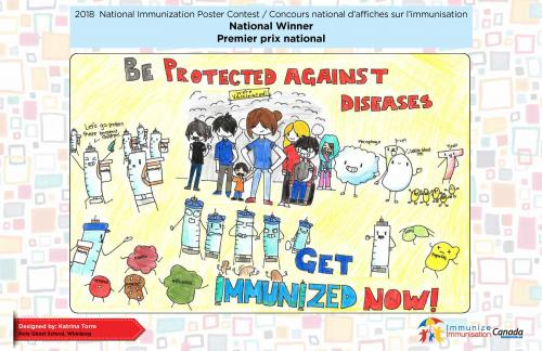 2018 National Immunization Poster Contest, National Winner (English)