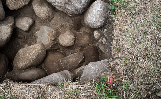 The team is back this summer, building on work done in 2017 and 2018, an archaeological excavation is taking place at Fort Saint-Louis in Port La Tour, Shelburne County.