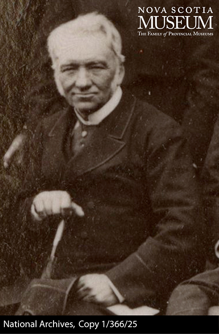 Photograph of Dr. David Honeyman, 1883.