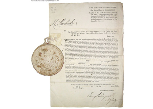Letter of Marque, Liverpool Packet and Seal