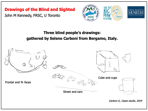 Examples of Drawings of the Blind and Sighted